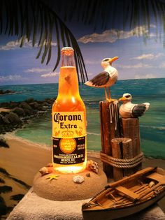 Awesome Corona Beer Bottle Lamp and Tips on How to Make Them | How to Make A Bottle Lamp