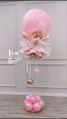 Birthday Balloon Decorations, Diy Party Decorations, Birthday Balloons, Balloon Ceiling Decorations, Graduation Decorations, Balloon Bouquet, Balloon Garland, Tulle Balloons, Balloon Flowers