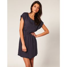Vero Moda Zip Pocket Waisted Dress