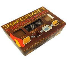 Shakespeare's 9 Sec S'mores Kit - http://bestchocolateshop.com/shakespeares-9-sec-smores-kit/