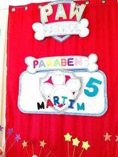 Festa de aniversário do Martim que festejou 5 aninhos, tema Patrulha Pata dia 17/09/17. Reserve neste momento a sua festa antes que esgote...