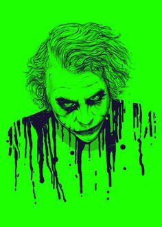 The Joker by nicebleed , via Behance