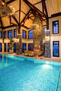 Indoor Pool With High Wooden Ceiling : Ways To Control Humidity In Your Indoor  Pool