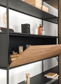La Literatura   Resource Furniture   Shelving