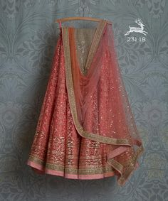 Items similar to Peach pink thread and sequence work india party indian wedding wear on Etsy Indian Dresses, Indian Outfits, Indian Clothes, Indian Wedding Wear, Wedding Updo, Indian Weddings, Peach Weddings, Wedding Mandap, Indian Party