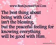 Quotes About God Being Good - Bing Images