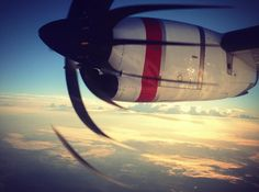 The beauty of the ATR-72 turboprop. Thank you to guest Julian Kennedy who snapped this stunning shot on the inaugural flight from Brisbane to Moranbah!