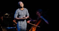 "Cynthia Erivo singing ""Still Hurting"". Also, Joshua Henry sings ""Moving Too Fast"" at last night's The Last Five Years benefit. Theatre Geek, Music Theater, Moving Too Fast, Cynthia Erivo, Just A Little, Make You Feel, Be Still, Vulture, Musicals"