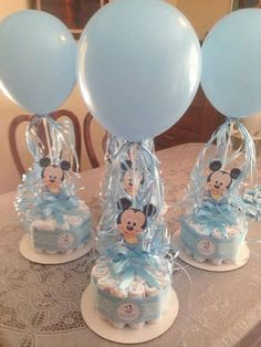 Mira como Decorar un Baby Shower con la Temática de Mickey (12 Ideas)