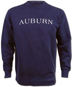 e18e09d3aec5 Auburn Horizontal Americana Crew Sweatshirt - Navy Auburn Game, Auburn  Football, Auburn Tigers,