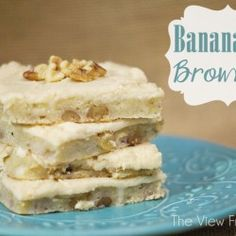 Banana Nut Brownies I Heart Nap Time | I Heart Nap Time - Easy recipes, DIY crafts, Homemaking