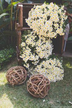 #festa #fiesta #decoração #decoración #flores #boda #casamento…