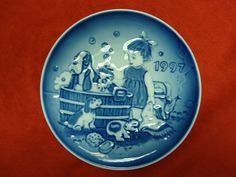 "1997 Bing & Grondahl B&G Children's Day Plate ""Bath Time"" in Collectibles, Decorative Collectibles, Decorative Collectible Brands 