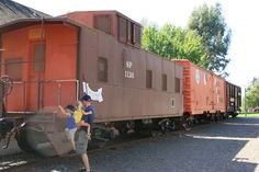 Depot Park in Sonoma is located about 1/2 mile north of the town square. It is a older shaded park with ball fields, a wonderful train museum and three train cars including a caboose. Depot Park is the city of Sonoma's second largest park after Plaza Park in the town square.