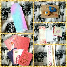 Here are 5 more penpal goodies ideas. I wrote a post with plenty of ideas of what to send to penpals that you can find at: http://megansmegablog.blogspot.co.uk/2016/09/penpal-goodies-ideas.html?m=1 !
