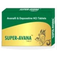 Super Avanafil is a drug which is often used to treat male erectile dysfunction. Super Avana tablet contains Avanafil 100 mg plus Dapoxetine 60 mg. Order cheap Super Avanafil from our generic pharmacy store. To know more please visit : http://realpharmacy2.wordpress.com/2013/10/07/super-avanafil-synchronize-life-with-super-avanafil/