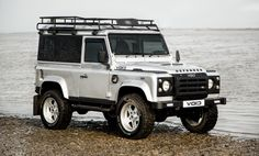 Void Silver Land Rover Defender 90