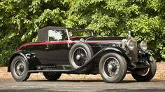 1927 Minerva AFS roadster, body work by D'Ieteren