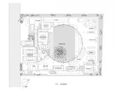 japanese House floor Plans | House Like a Museum / Edward Suzuki Associates | ArchDaily