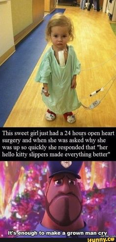 (Not really something to laugh about, but the hello kitty thing is funny) Sweet Stories, Cute Stories, Happy Stories, Human Kindness, Touching Stories, Faith In Humanity Restored, Emotion, Funny Cute, Just In Case