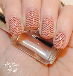 Incoco Nail Polish Appliques - Twill Weave