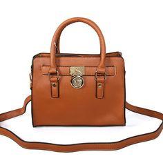 Fashion Michael Kors Hamilton Traveler Small Brown Satchels Online!