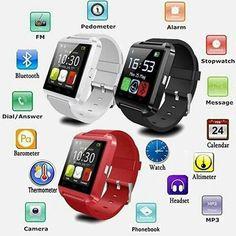 """Onix U Watch U8 Smartwatch  Strap Hanya Warna Hitam Spesifikasi : Layar sentuh 148"""" Mukti bahasa Teknologi layar sentuh Untuk Android dan ios Strap silikon  I-one smartwatch U8 adalah smartwatch bluetooth yang membuat menghubungkan ponsel Android dan ios anda yang secara mudah mengakses -panggilan telepon -Phonebook -sms -pedometer -pemutaran musik -alarm -kalender -stopwatch -dsb  #OnixUWatch #smartwatch #U8 #Watch #jktkom #jakartakomputer #imbisnis #carireseller #PeluangUsaha…"""