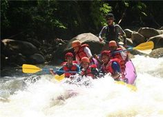 Whitewater rafting at Sungai Kampar, only 15 minutes from Ipoh in Perak and 2 hours from KL, is an exhilarating experience that anyone can enjoy! Known as Malaysia's best river for recreational rafting, this rafting trip has it all. From the excitement of tackling large rapids, to enjoying the serene beauty of a gentle paddle through lush rainforest, this will be an invigorating day spent at one with nature.
