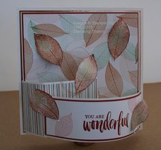 Stamping Shanni | Fancy Folds - Bend Fold Cards | Stampin' Up!