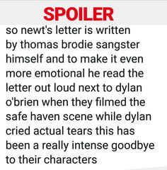 That's like what happened in Doctor Who the day when Amy and Rory died Maze Runner Funny, Maze Runner The Scorch, Maze Runner Cast, Maze Runner Movie, Maze Runner Trilogy, Maze Runner Series, Dying Inside, The Scorch Trials, Girly Quotes
