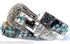 BHW CoWgiRl WeStErN BriNdLe TuRqUoiSe PeWtEr CrOsS CoNcHo LeAtHeR BeLt(S-M-L-XL)