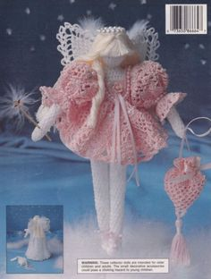 Toothfairy-Angel-Fairy-Tales-South-Maid-Crochet-Doll-Pattern-Booklet-No-1-RARE