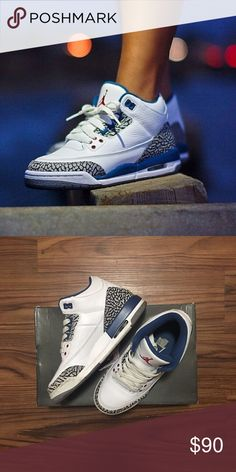 9ae5bdb8fe7 2011 AIR JORDAN 3 RETRO  TRUE BLUE  GS SZ 5Y 6.5W More photos