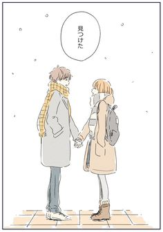 itunohika, anime art, couple