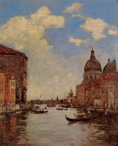 Venice, 1895 - Eugene Boudin