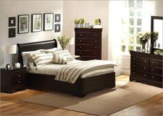 Love darker wood furniture :)