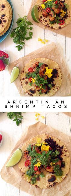 Argentinian Shrimp Tacos Recipe | CiaoFlorentina.com