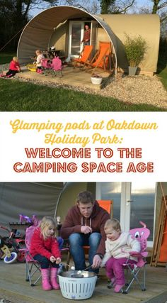 A review of a family stay in a premier glamping pod at Oakdown Holiday Park near Sidmouth in Devon, UK