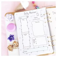 Today's a floral kind of day  #floralplanner
