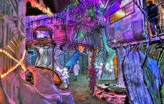 Meow Wolf House of Eternal Return Meow Wolf, Aesthetic Room Decor, Fantasy Landscape, Interior And Exterior, Cafe Interior, Interior Design, Beautiful Architecture, Dream Rooms, Cool Rooms