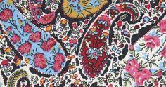 Liberty classic fabrics - paisley.