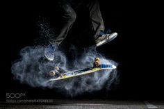 Skateboarding: 360 Flip with Flour by MattiasClymer1