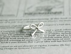 simple wire bow ring by kildaremom