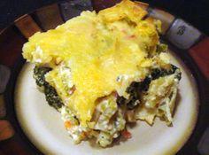 Chicken Tortilla Spinach Casserole