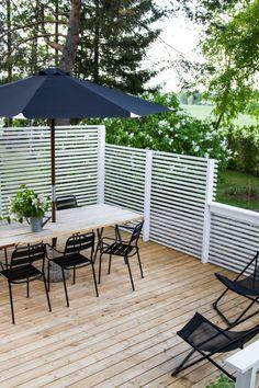 New deck, new terrace. Terrace Design, Patio Design, Garden Design, Small Space Interior Design, Interior Design Living Room, Pergola Patio, Backyard Patio, Outdoor Spaces, Outdoor Living