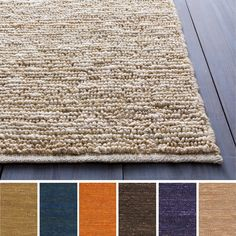 Perfect for any room of your home, this hand-woven natural fiber rug is available in a variety of colors to match your style. The chapra fibers give this rug a natural look that will bring a sense of home and contemporary style to your dwelling.