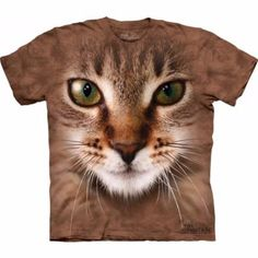 Camiseta  Gato a Rayas
