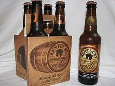 Kentucky Bourbon Barrel Ale. An ale with whiskey undertones. The best of both worlds.