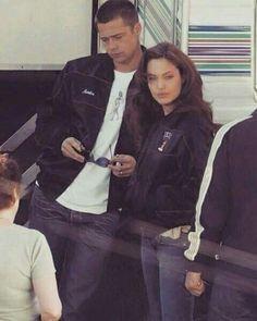 Brad pitt y Angelina ♥️