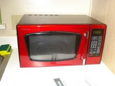 dunelm red microwaves